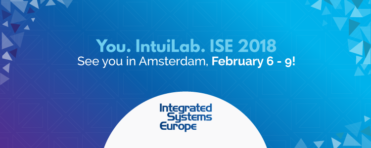 Join IntuiLab at ISE 2018 in Amsterdam