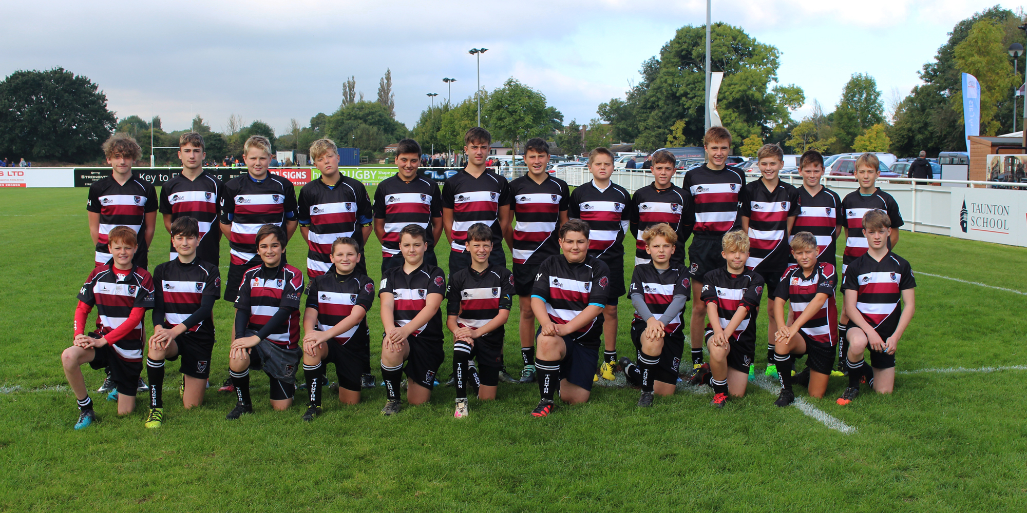Taunton Lions - Under 15 rugby squad