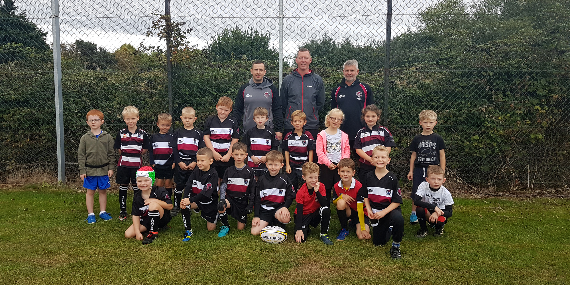 Taunton Raptors - Under 7 tag rugby squad
