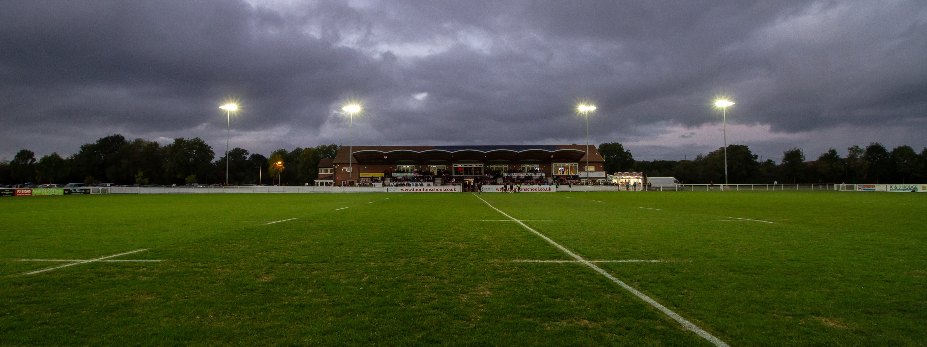 The Commsplus Stadium - Home of Taunton Rugby Club
