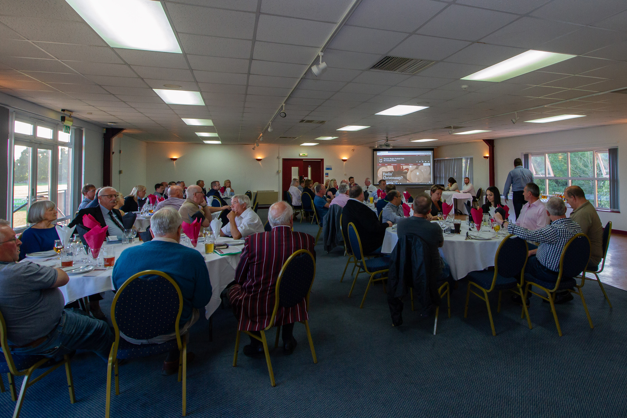 Corporate hospitality at Taunton Rugby Club