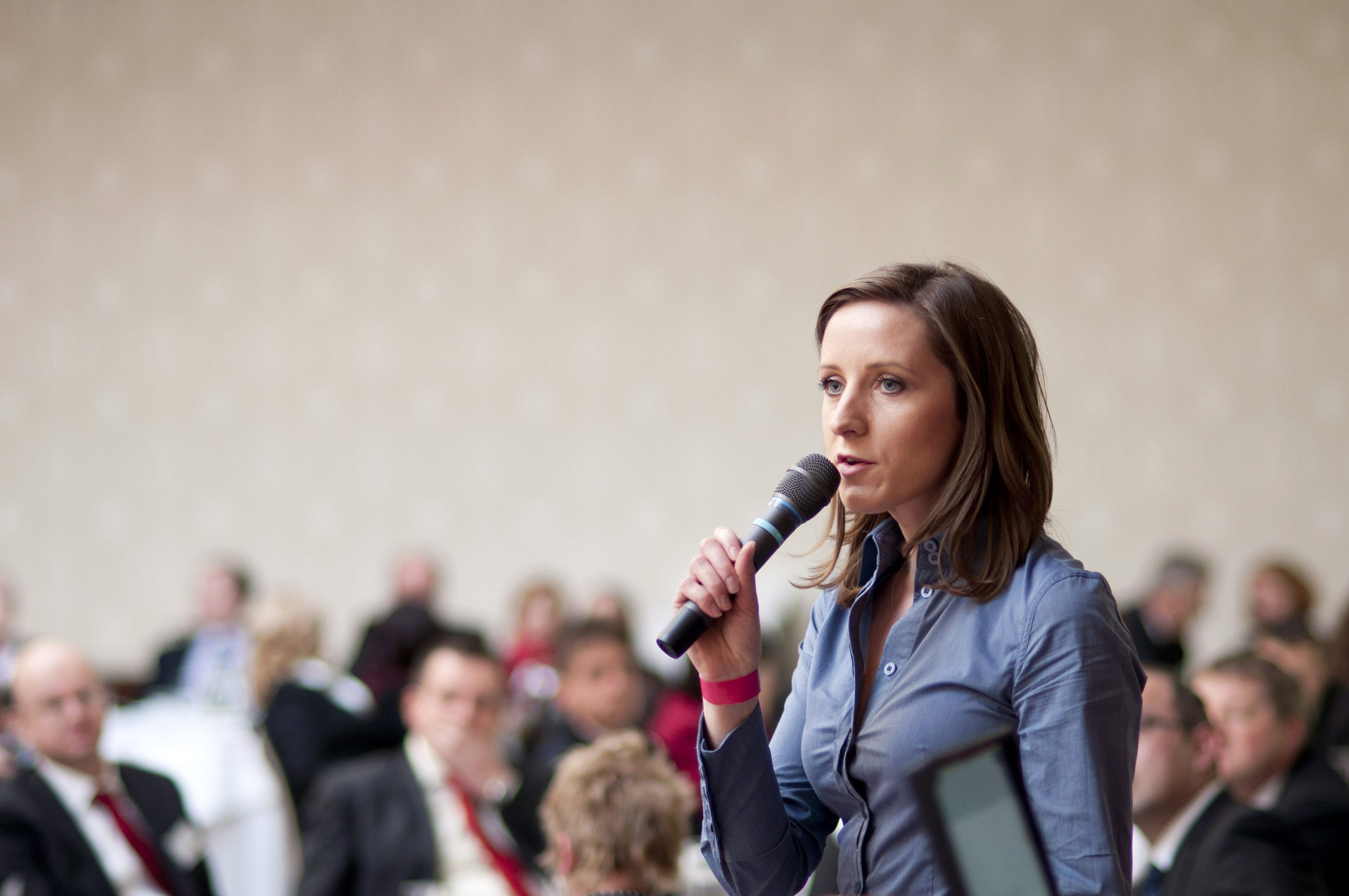 The secrets to running a successful seminar at a business show