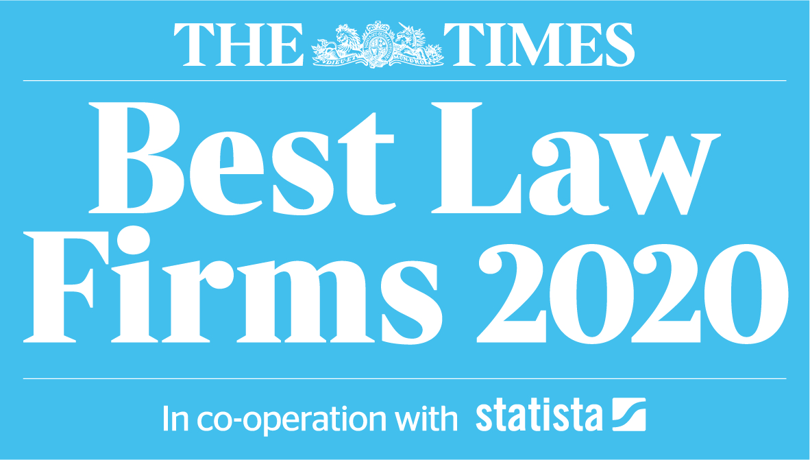 360 Law Group Placed in The Times Best Law Firms 2020