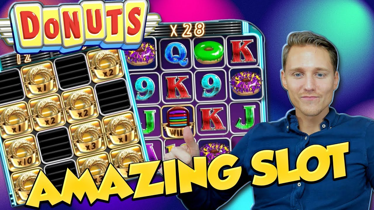 donuts slot big win