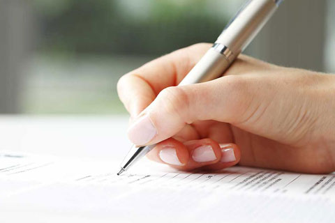 signing at the end of the conveyancing process