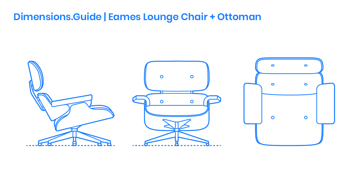Swell Eames Lounge Chair Ottoman Dimensions Drawings Alphanode Cool Chair Designs And Ideas Alphanodeonline