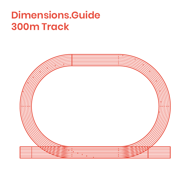 300m running track dimensions drawings dimensions guide. Black Bedroom Furniture Sets. Home Design Ideas