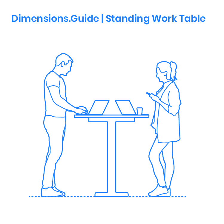 Standing Work Table Dimensions