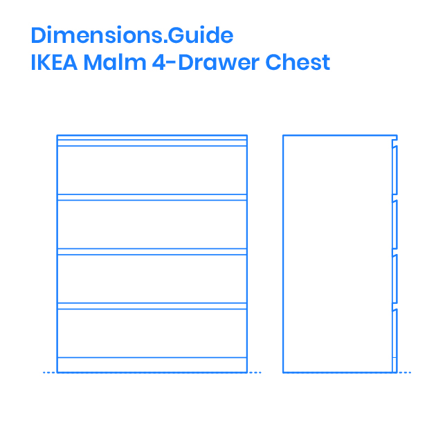Ikea Malm 4 Drawer Chest Dimensions