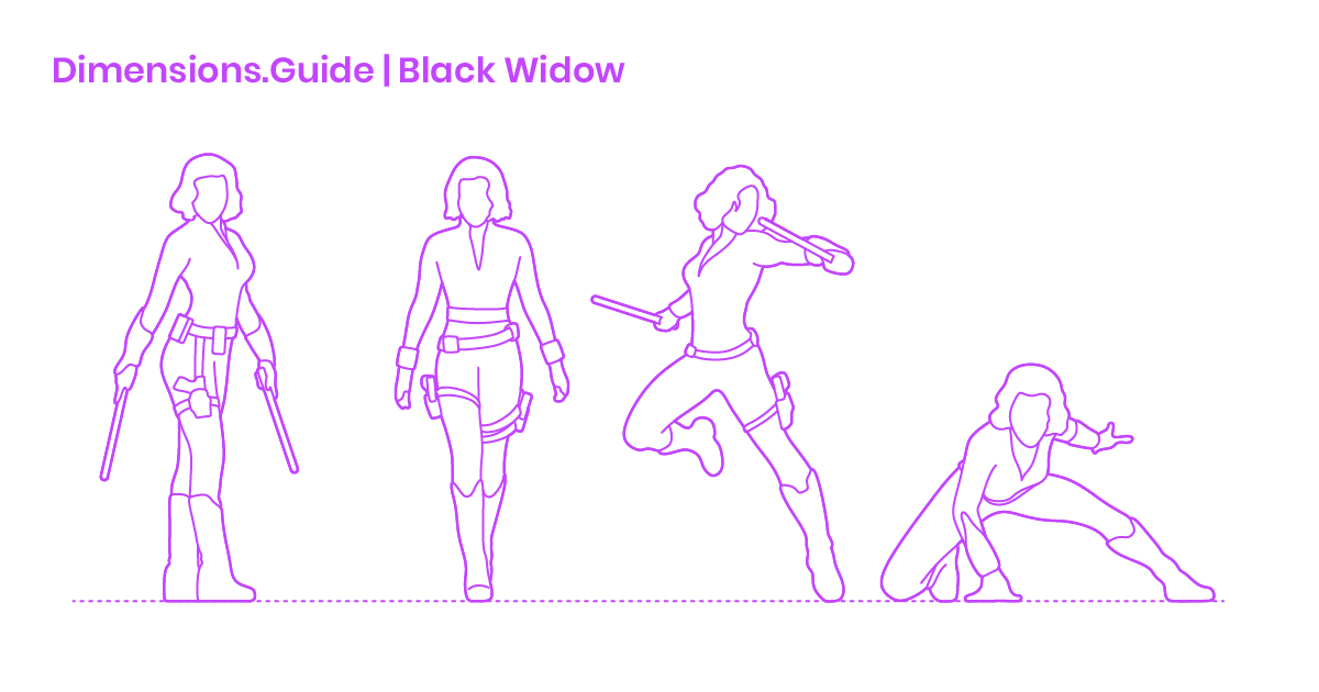 Black Widow Dimensions Drawings Dimensions Guide