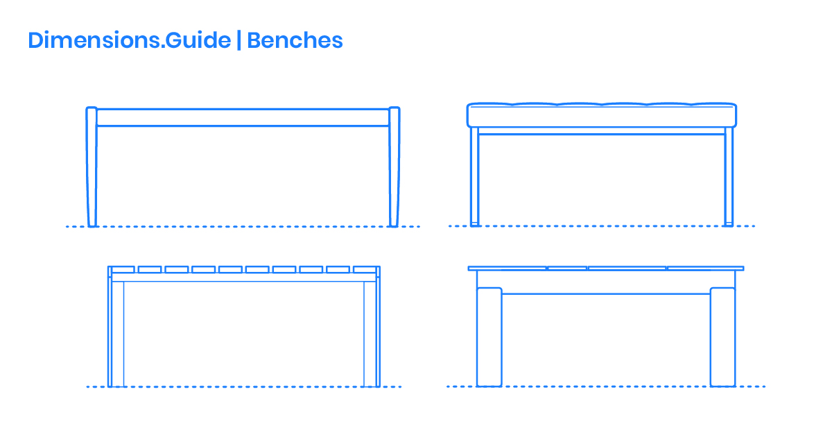 Outstanding Bench Dimensions Drawings Dimensions Guide Ibusinesslaw Wood Chair Design Ideas Ibusinesslaworg