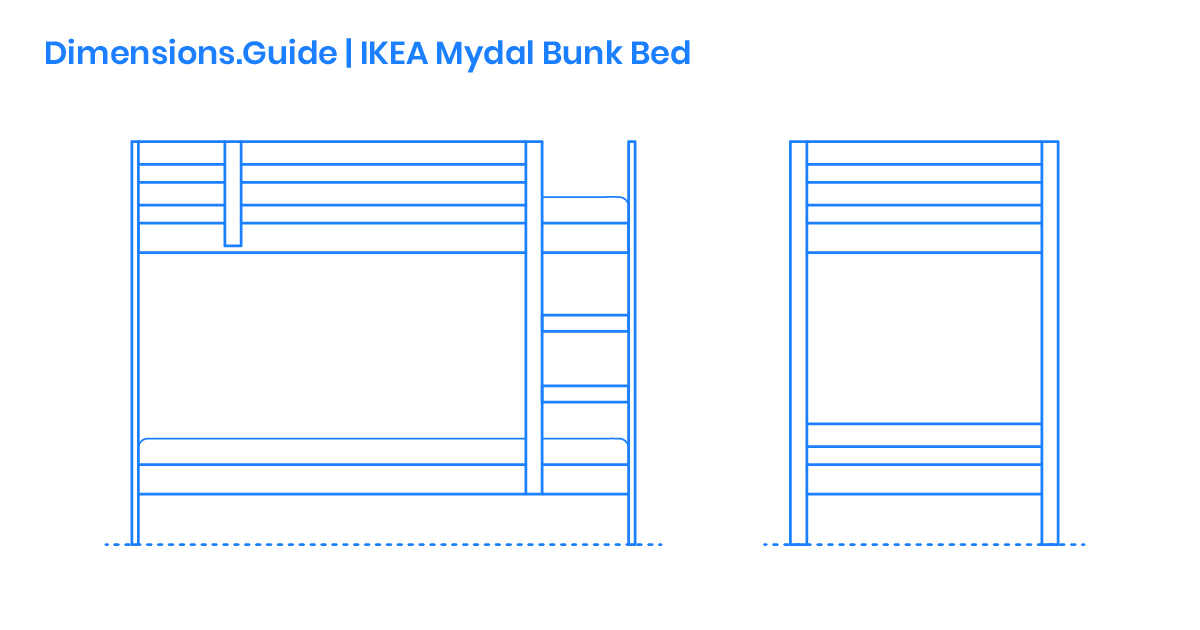 5cdf4ae48eff8b59b ae Dimensions Guide Furniture Bunk Beds Loft Beds IKEA Mydal Bunk Bed OG
