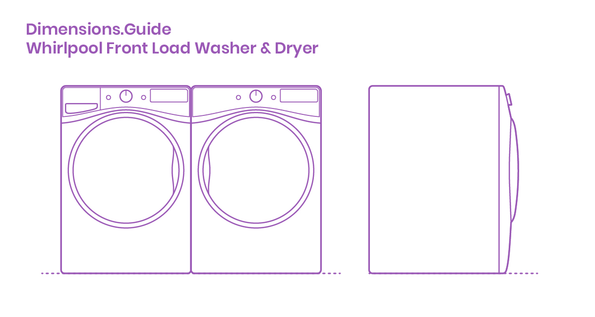 Whirlpool Front Load Washer Dryer