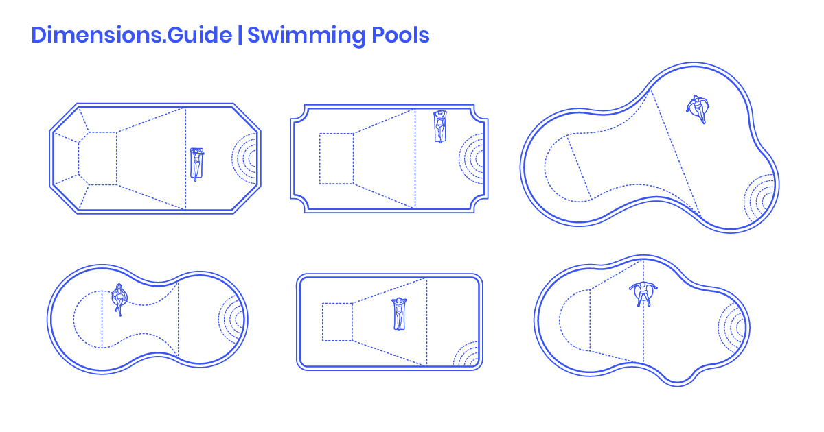 Swimming Pool Layouts Dimensions & Drawings | Dimensions.Guide