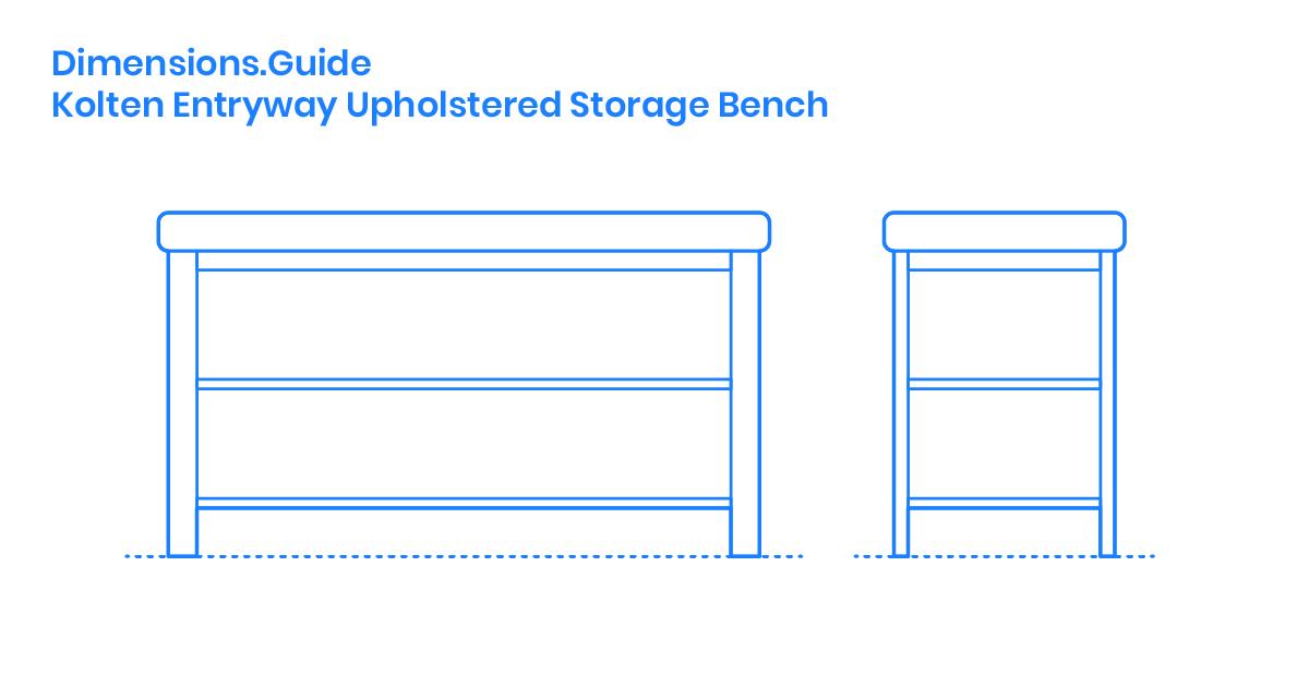 Prime Kolten Entryway Upholstered Storage Bench Dimensions Spiritservingveterans Wood Chair Design Ideas Spiritservingveteransorg