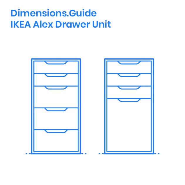 Ikea Alex Drawer Unit Dimensions