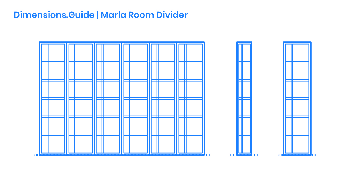 Marla Room Divider Dimensions Drawings Dimensions Com