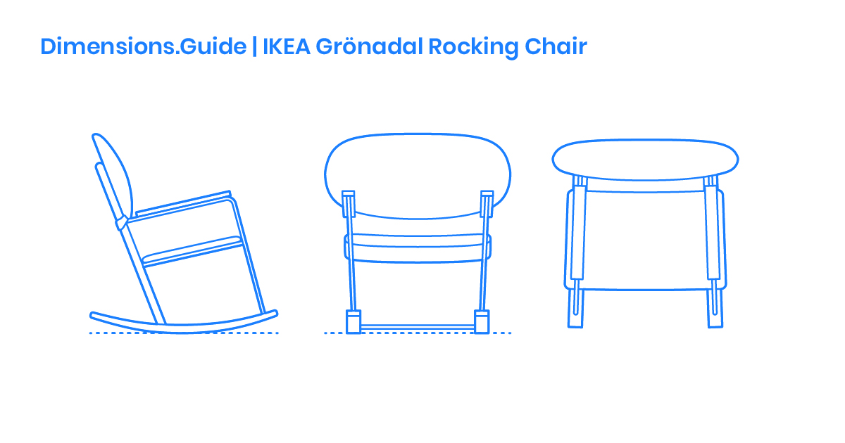 Amazing Ikea Gronadal Rocking Chair Dimensions Drawings Gmtry Best Dining Table And Chair Ideas Images Gmtryco