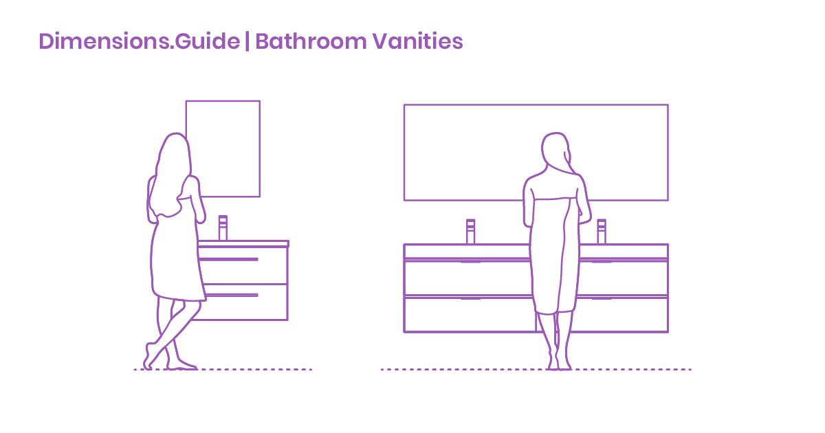 Bathroom Vanities Dimensions Drawings