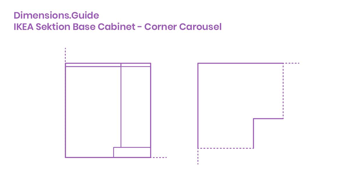Ikea Sektion Base Cabinet Corner