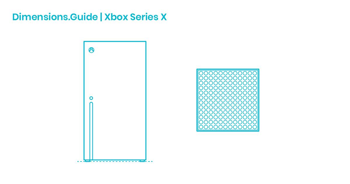 Xbox Series X Dimensions Drawings Dimensions Com