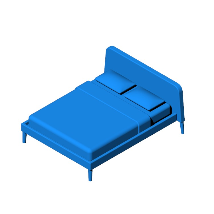 View of the Parallel Bed in 3D available for download