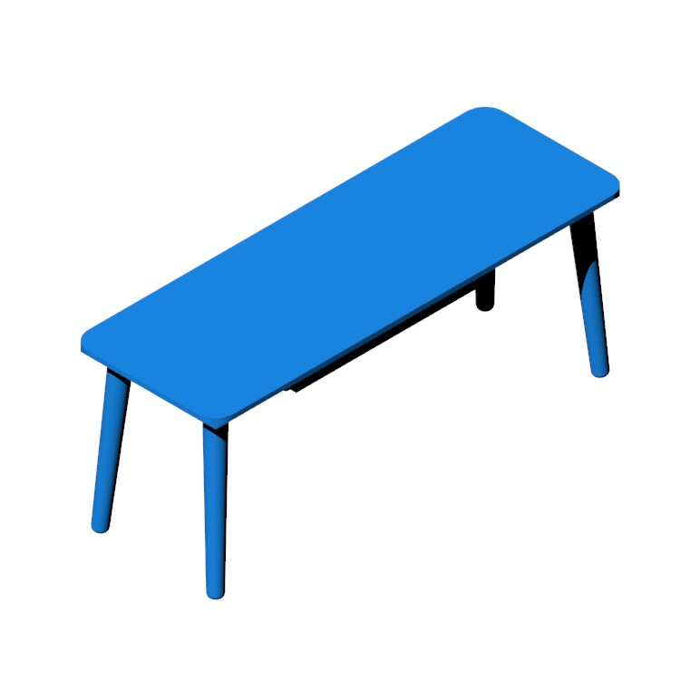 View of the IKEA Lisabo TV Unit in 3D available for download