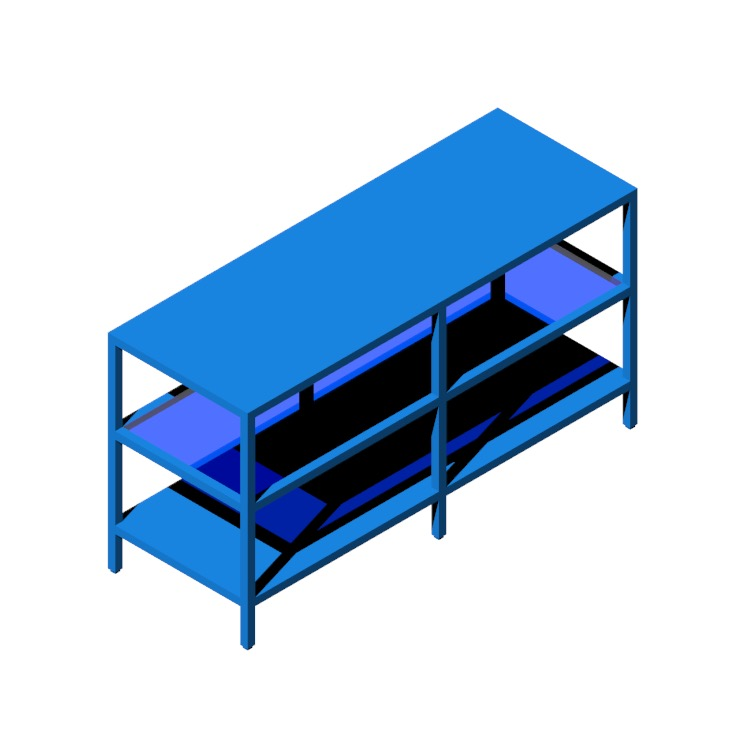 View of the IKEA Vittsjö TV Unit in 3D available for download