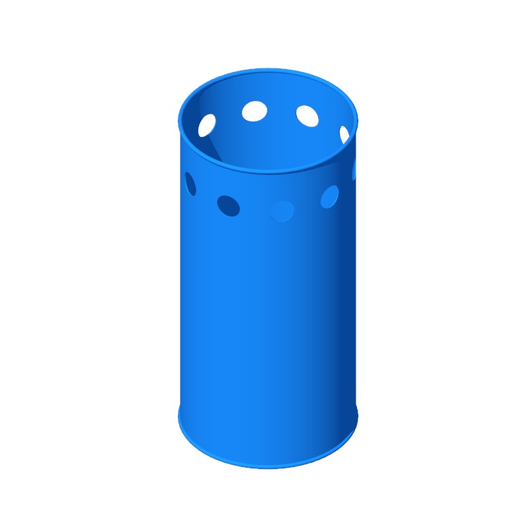 View of the Symbolo Umbrella Stand in 3D available for download