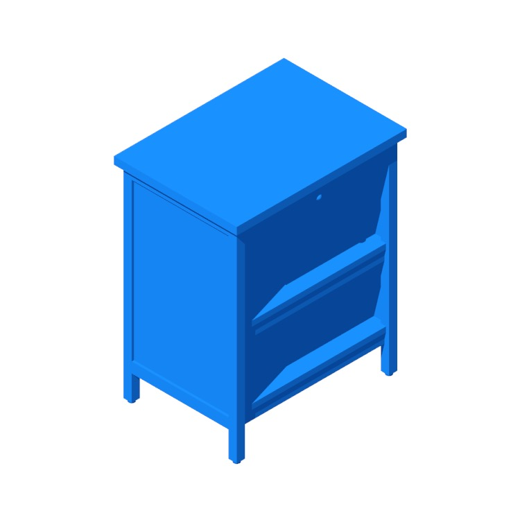 View of the IKEA Tornviken Kitchen Island in 3D available for download