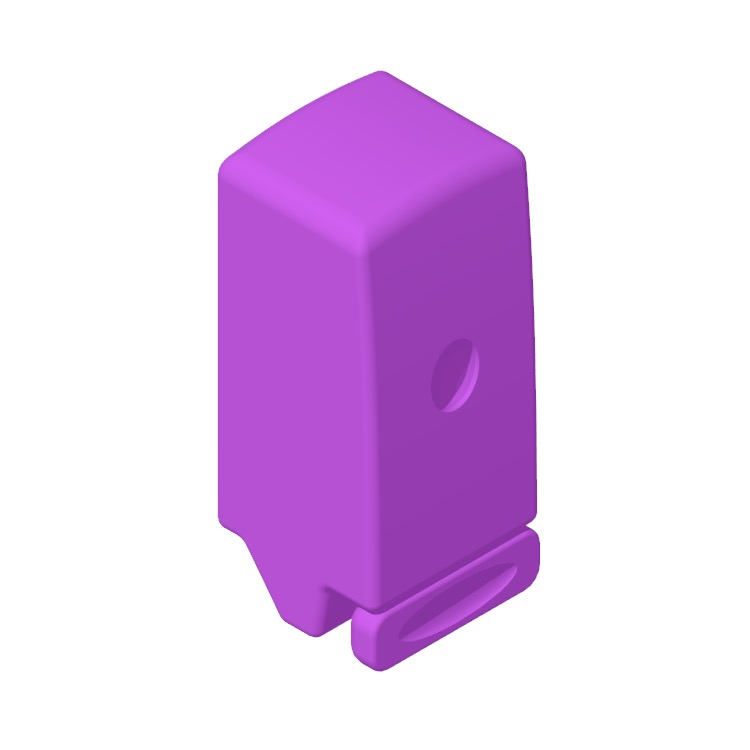 View of the Georgia Pacific Pro Manual Universal Soap Dispenser in 3D available for download