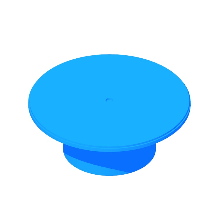 View of the Plateau Coffee Table in 3D available for download