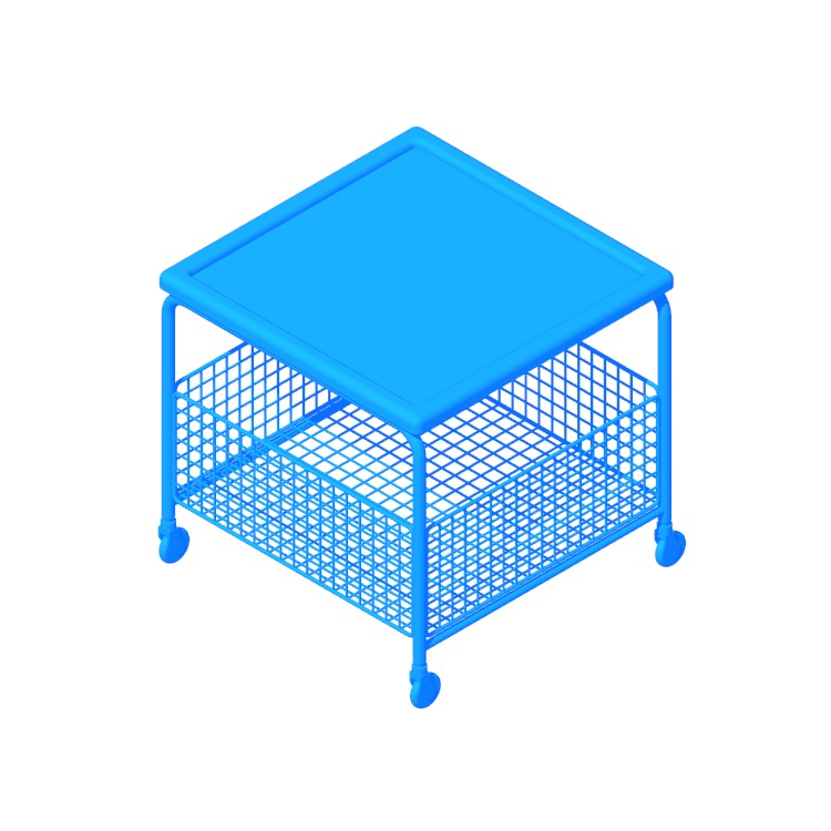 View of the IKEA Lalleröd Coffee Table in 3D available for download