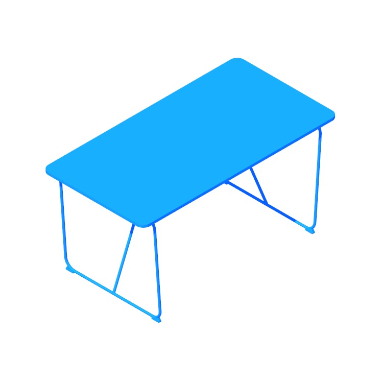 View of the IKEA Övraryd | Backaryd Table in 3D available for download
