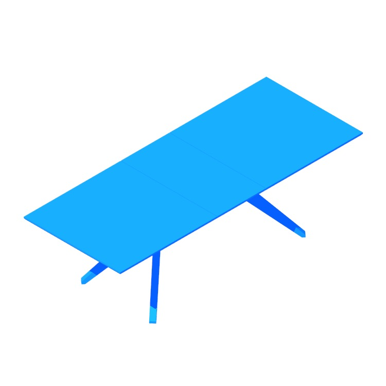 View of the Cross Table (Extension) in 3D available for download