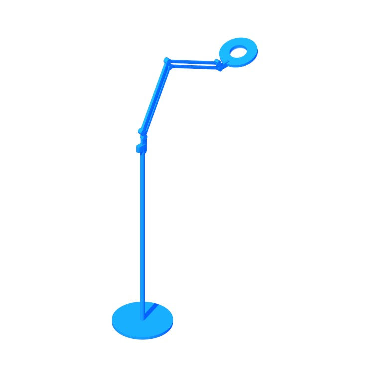3D model of the Link Floor Lamp (Medium) viewed in perspective