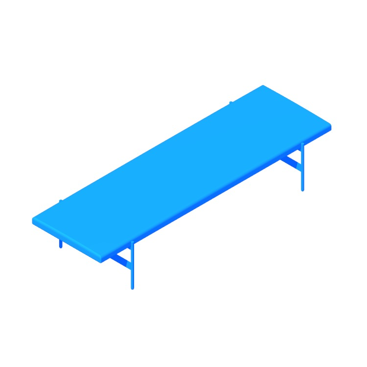 View of the Daybench (Jumbo) in 3D available for download