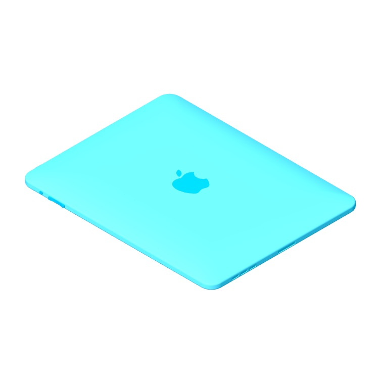 3D model of the Apple iPad (1st Gen) viewed in perspective
