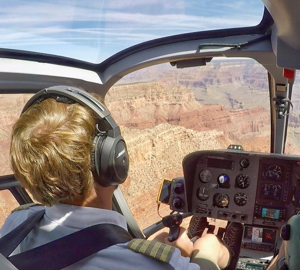 Spidertracks and Maverick Helicopters - Grand Canyon.
