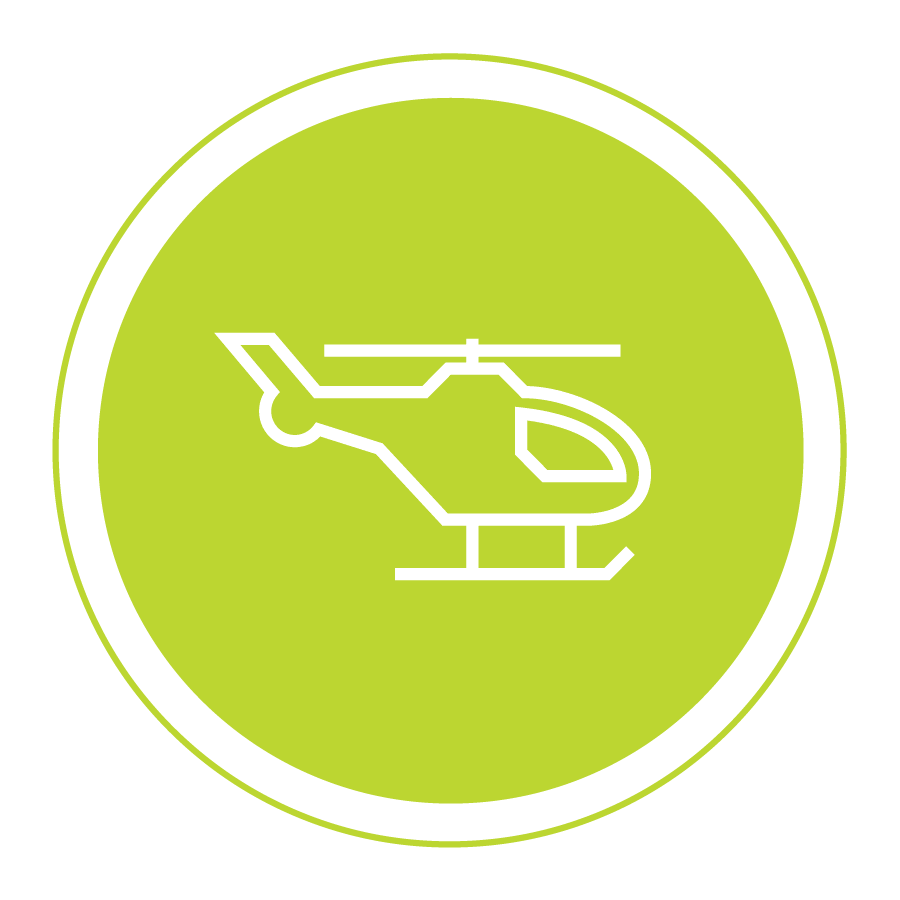 Spidertracks Helicopter Icon