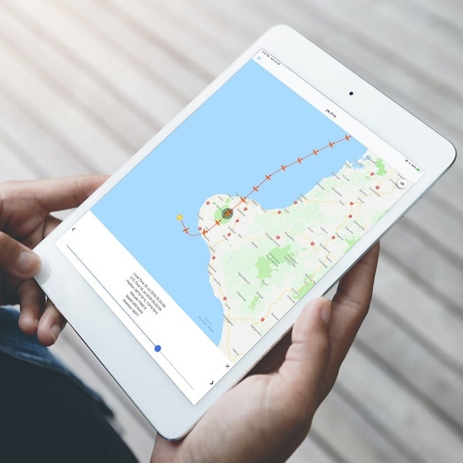Virtual FDR High Definition Flight Tracking on iPad