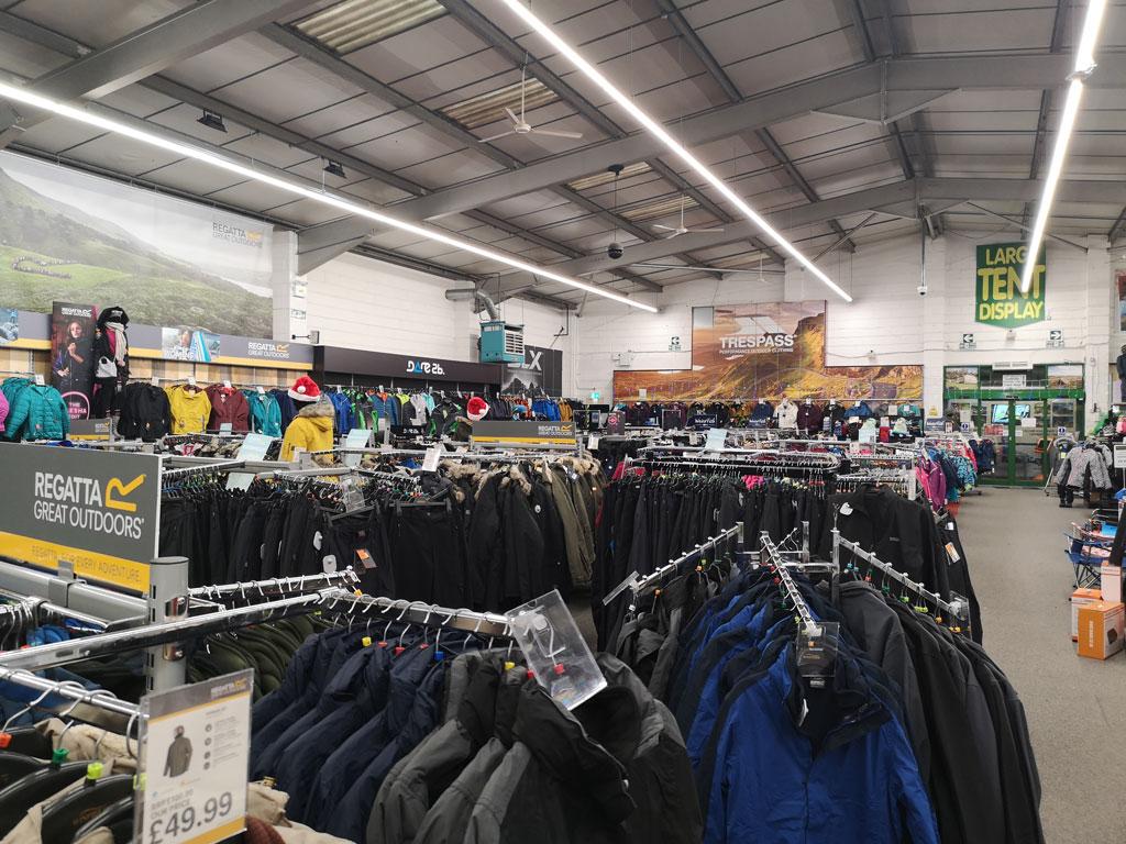 Winfields Retail Superstore Illumination