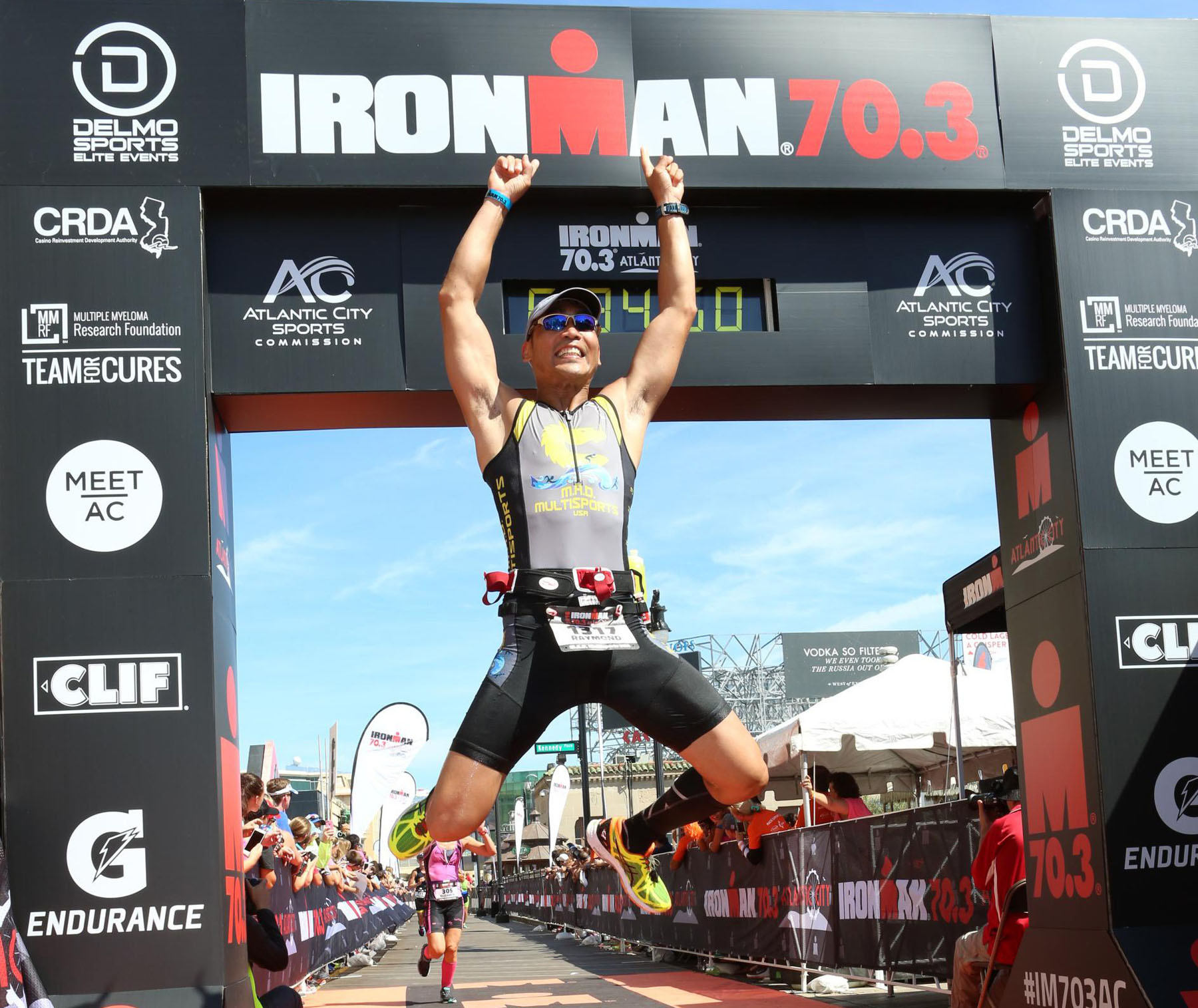 finish airtime- Ironman 70.3 Atlantic City