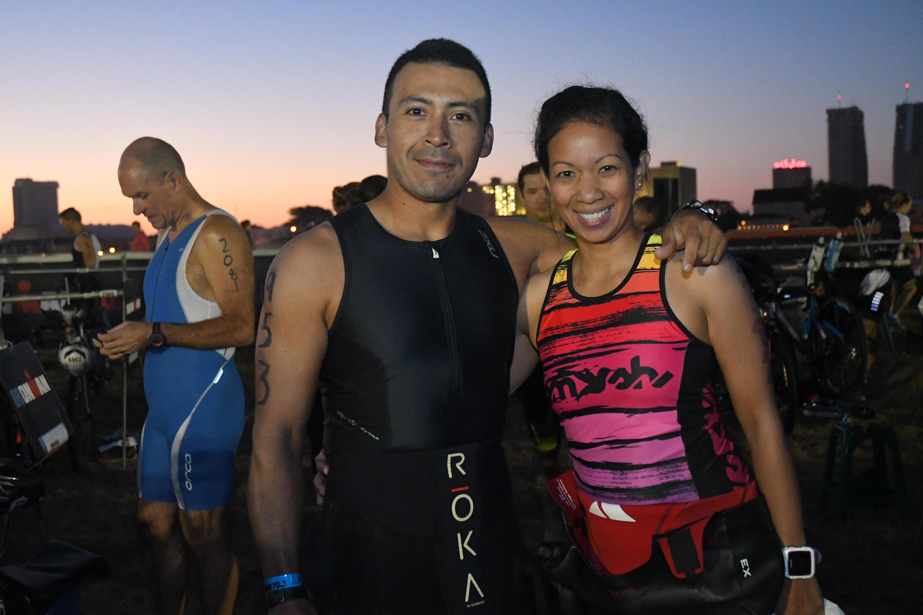 couple sunrise - Ironman 70.3 Atlantic City