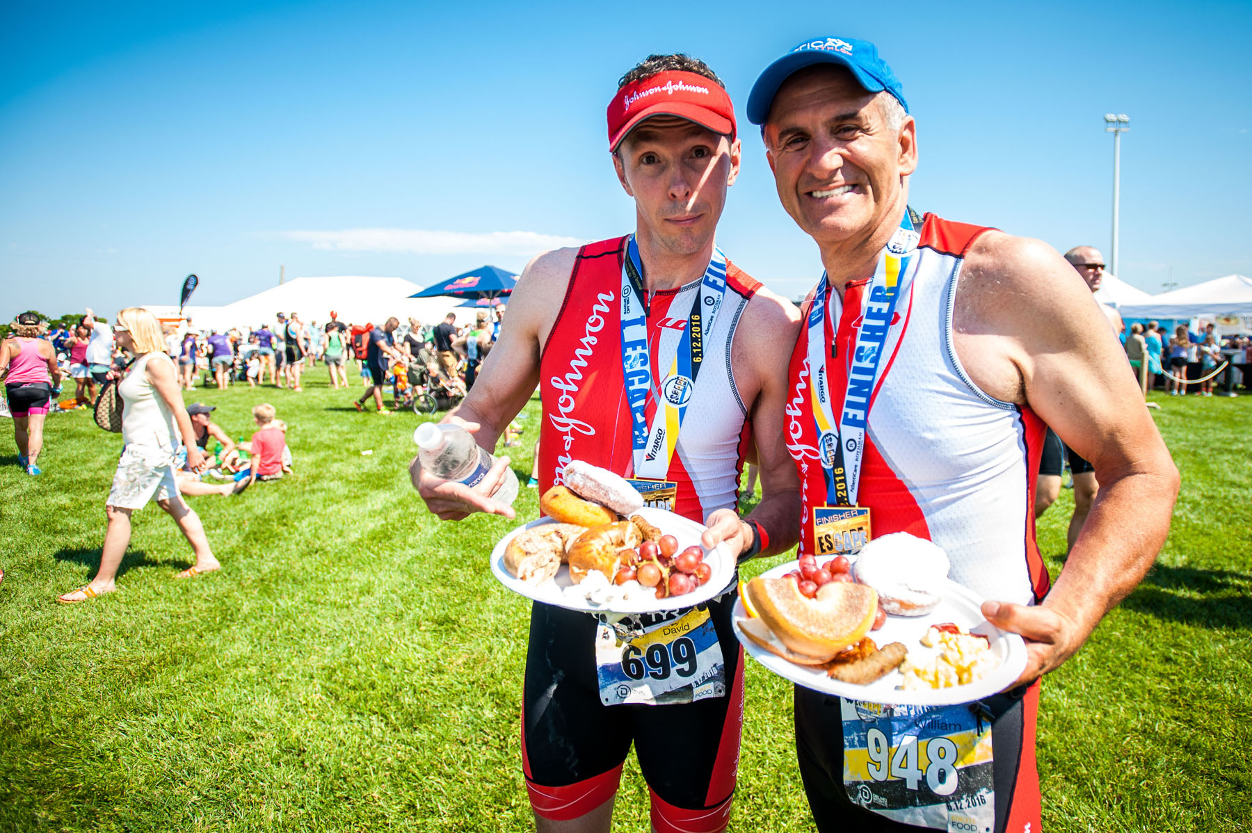 Amazing post race food!  - Escape The Cape Triathlon
