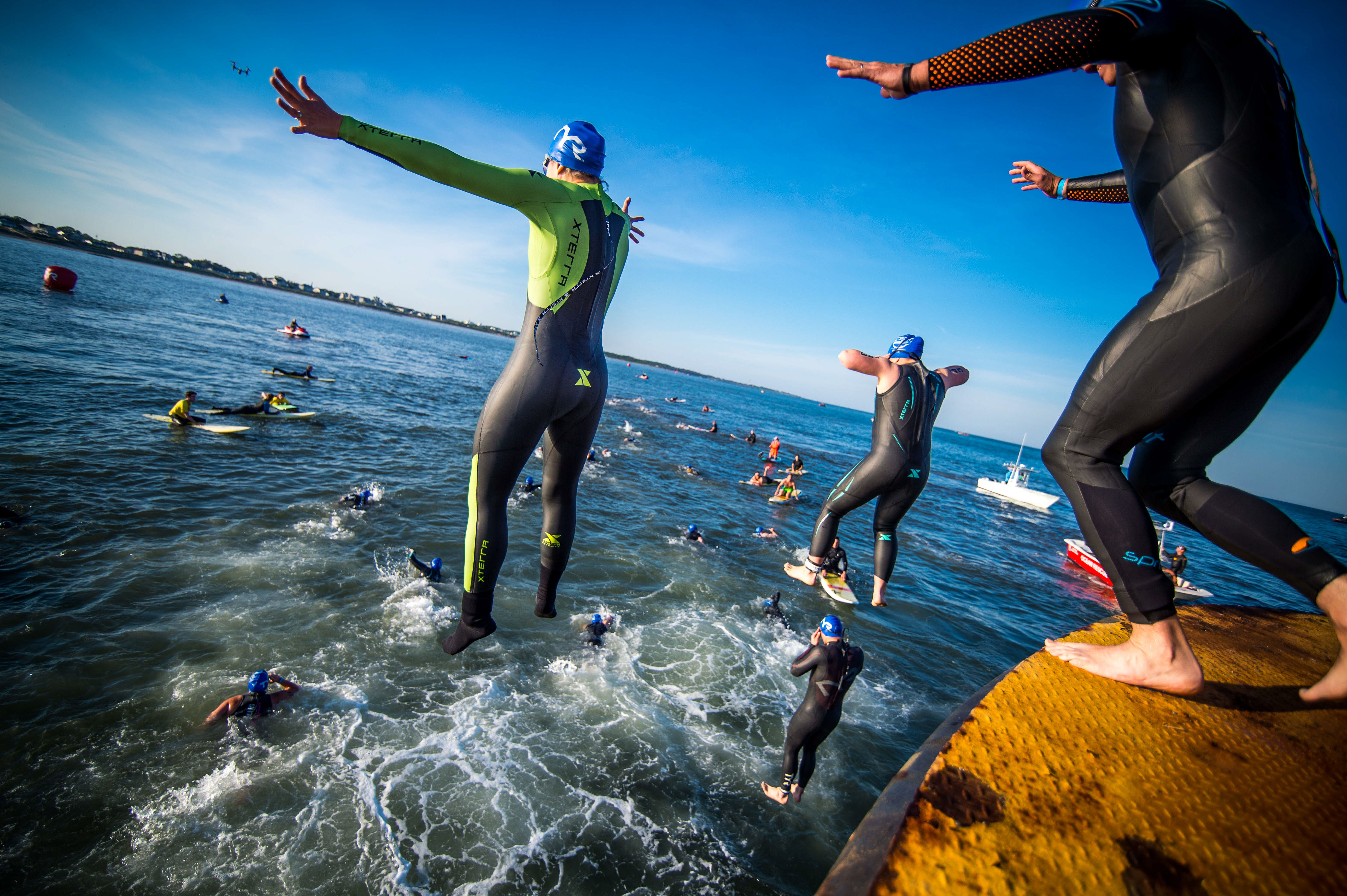 arms out - Escape From Lewes Open Water Classic Copy