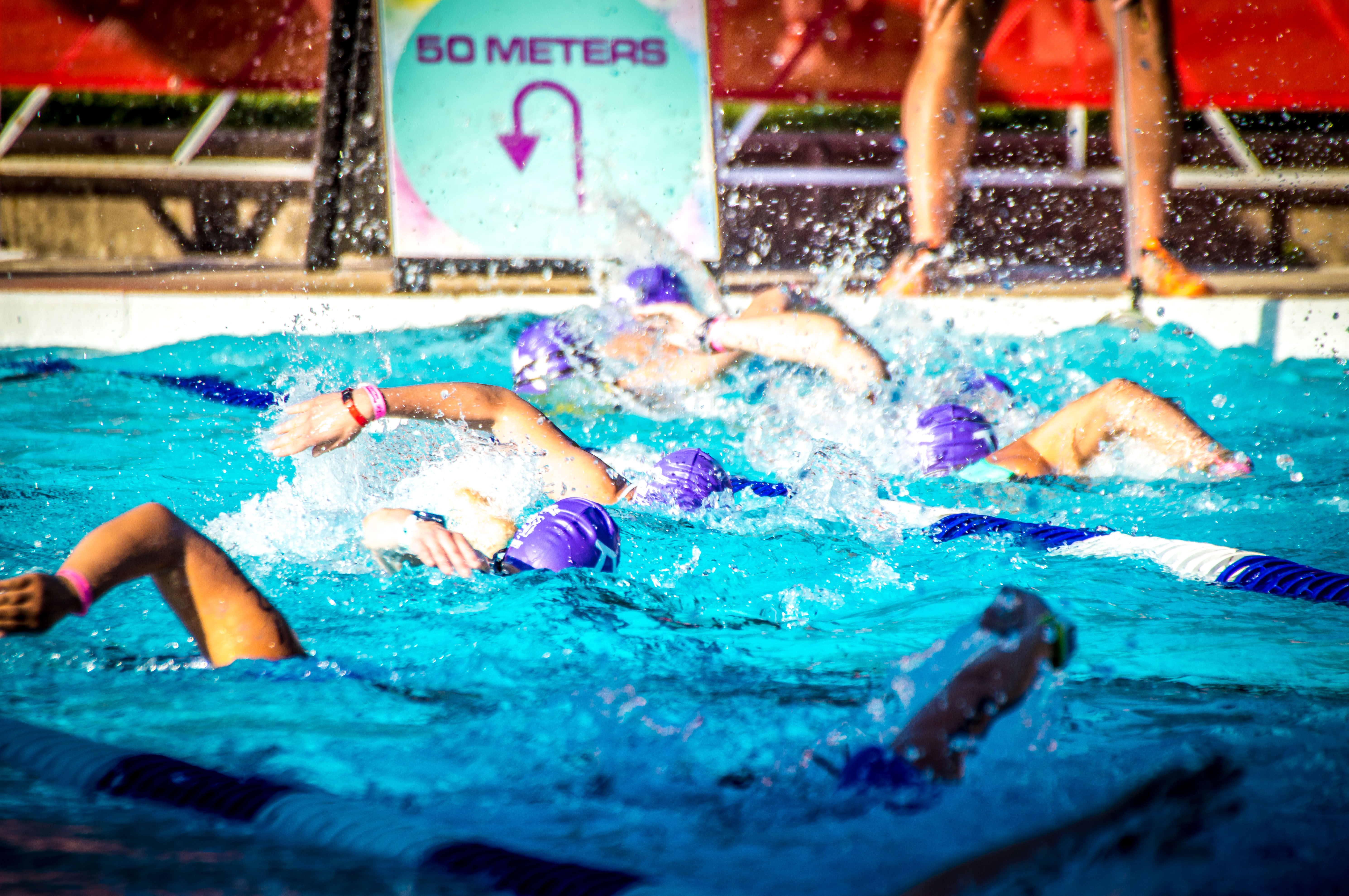 WPT - pool swim