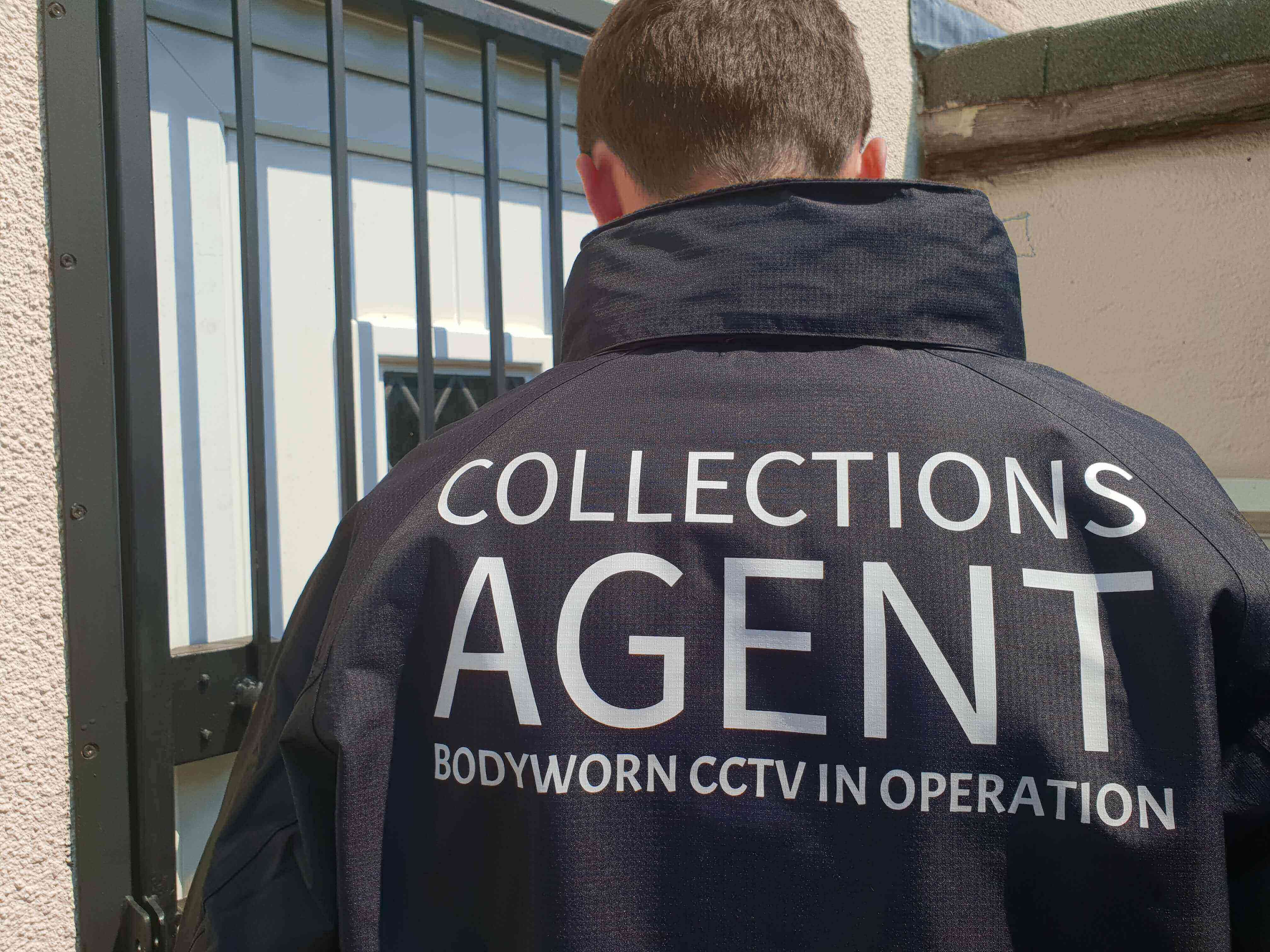 face to face debt collection agent