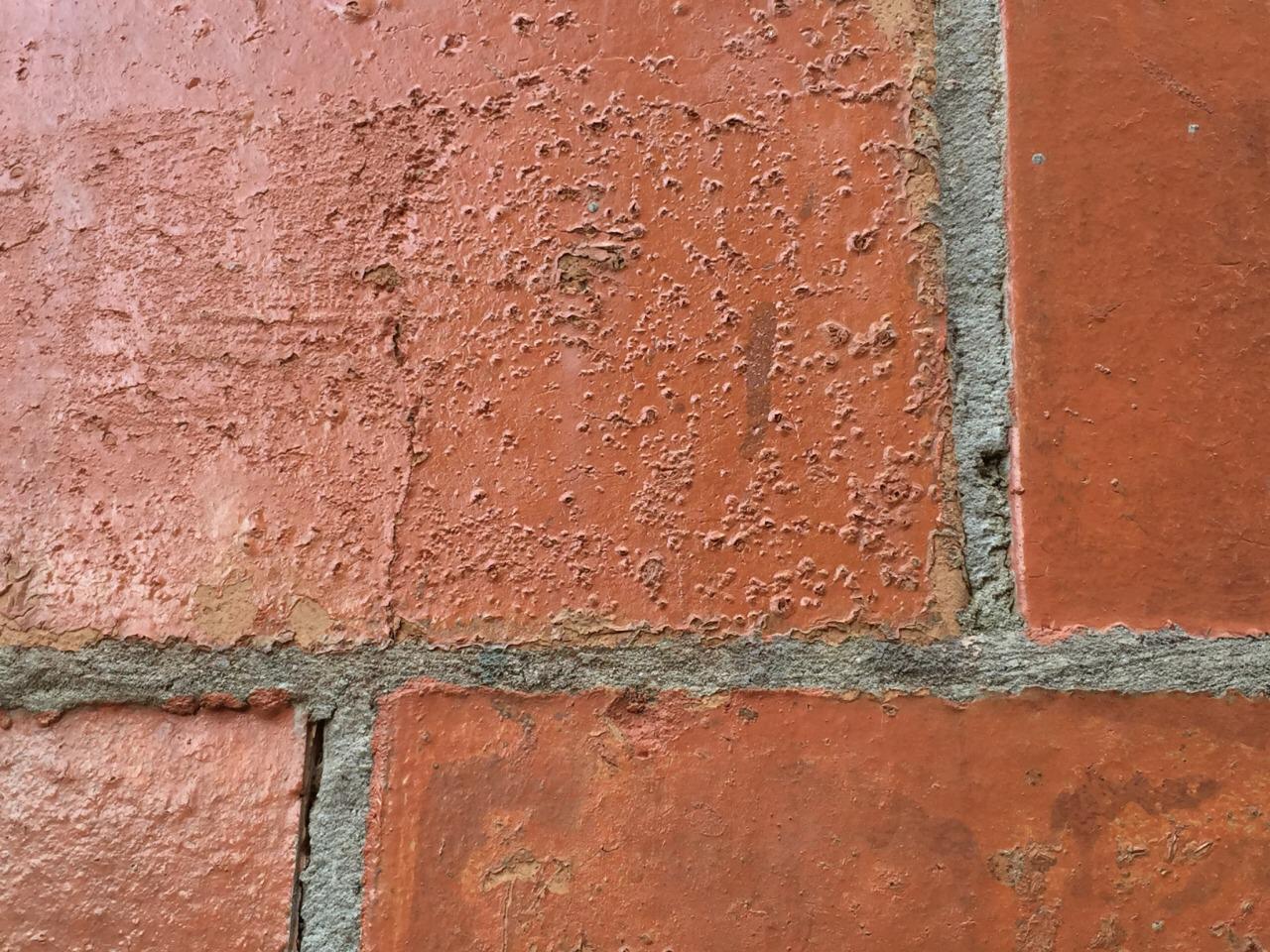 Falha Adesiva da Argamassa de Encunhamento Lateral com o Bloco Cerâmico