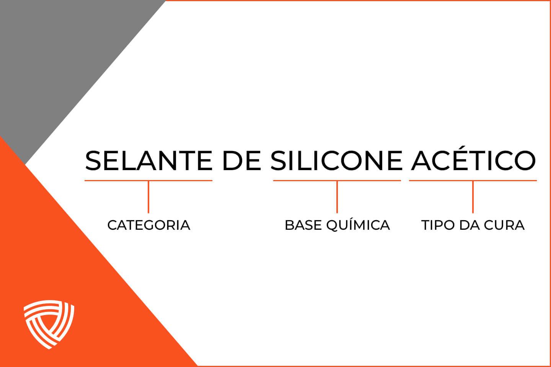 selante de silicone acético